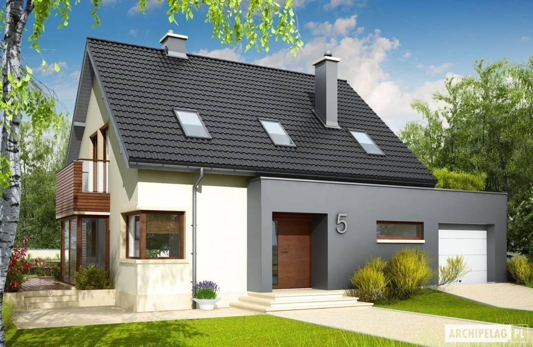 Maisons de style  par Pracownia Projektowa ARCHIPELAG,