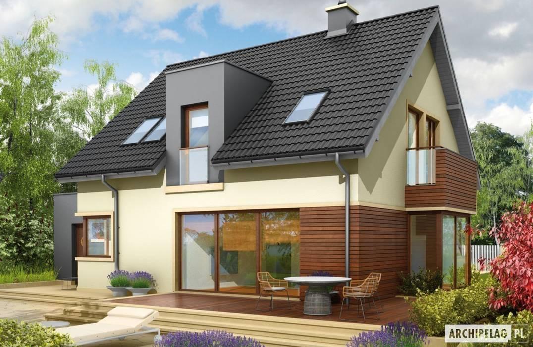 Projekt domu Mati G1 : styl , w kategorii Domy zaprojektowany przez Pracownia Projektowa ARCHIPELAG