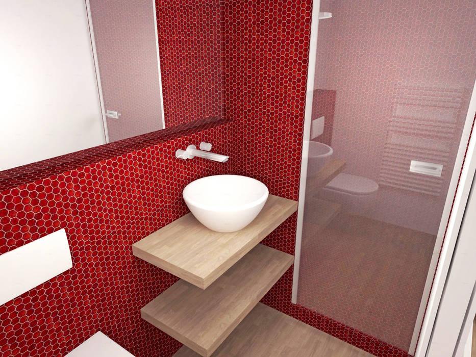 Image 3d Du Projet Salle De Bain Salle De Bains De Style Par