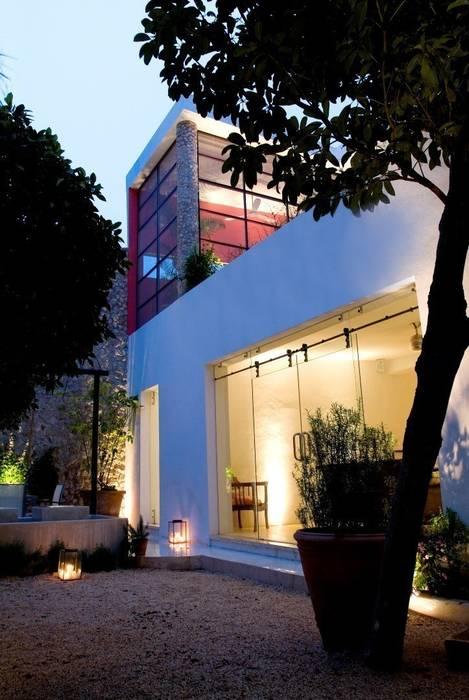 Patio Casas de estilo ecléctico de Taller Estilo Arquitectura Ecléctico