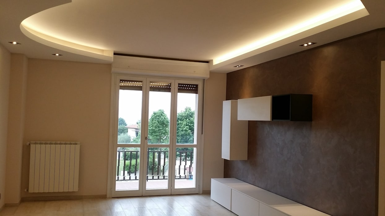 Modern Living Room by Rosy Gioia Architetto Modern
