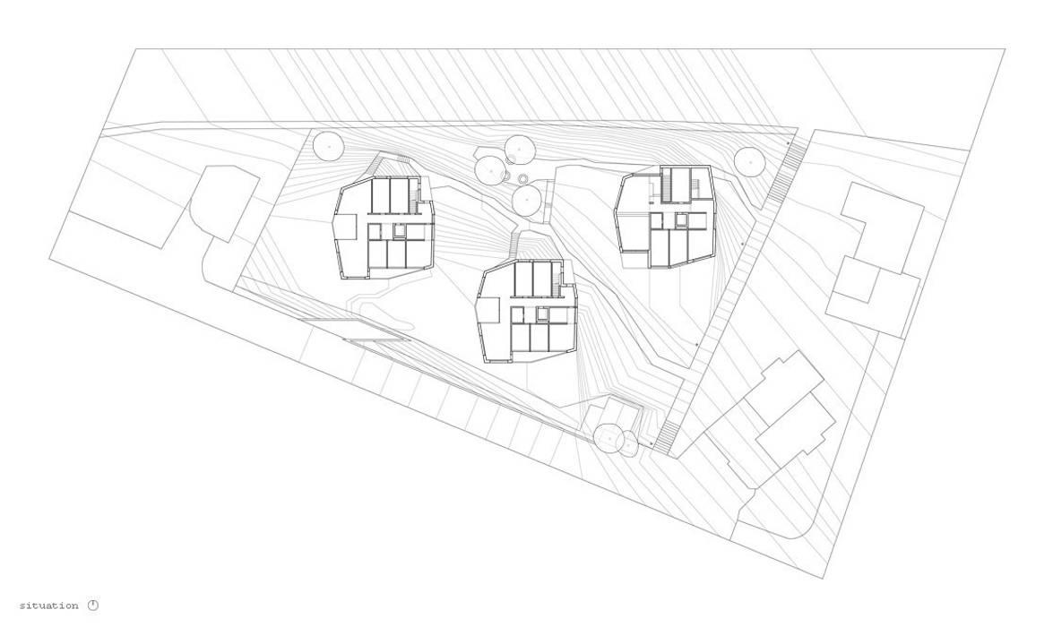 Situation Erdgeschoss idA buehrer wuest architekten sia ag