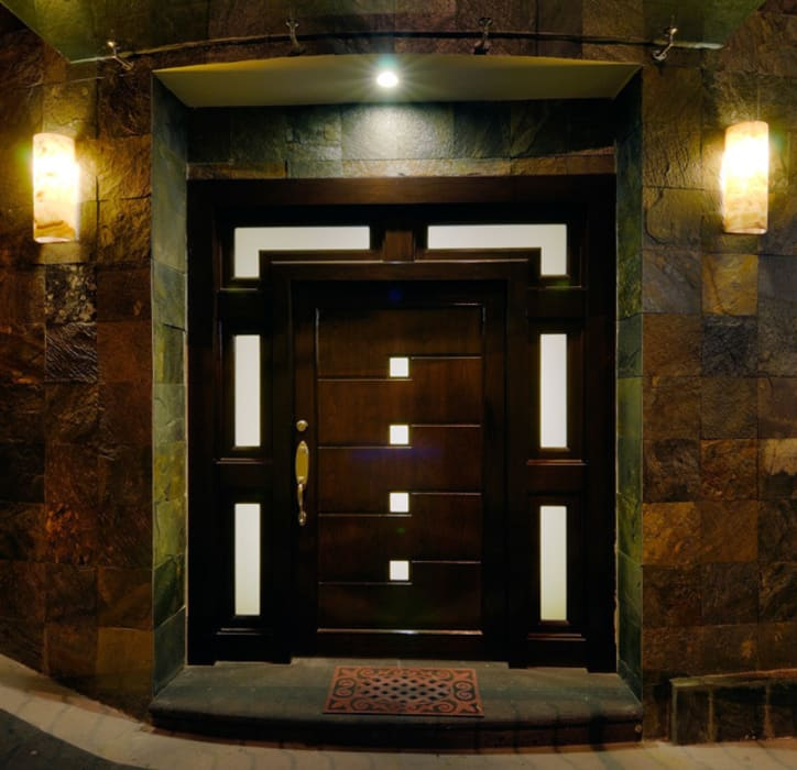 PUERTA PRINCIPAL Puertas y ventanas modernas de Excelencia en Diseño Moderno