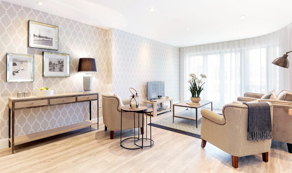 Living Room by WN Interiors โดย WN Interiors โมเดิร์น