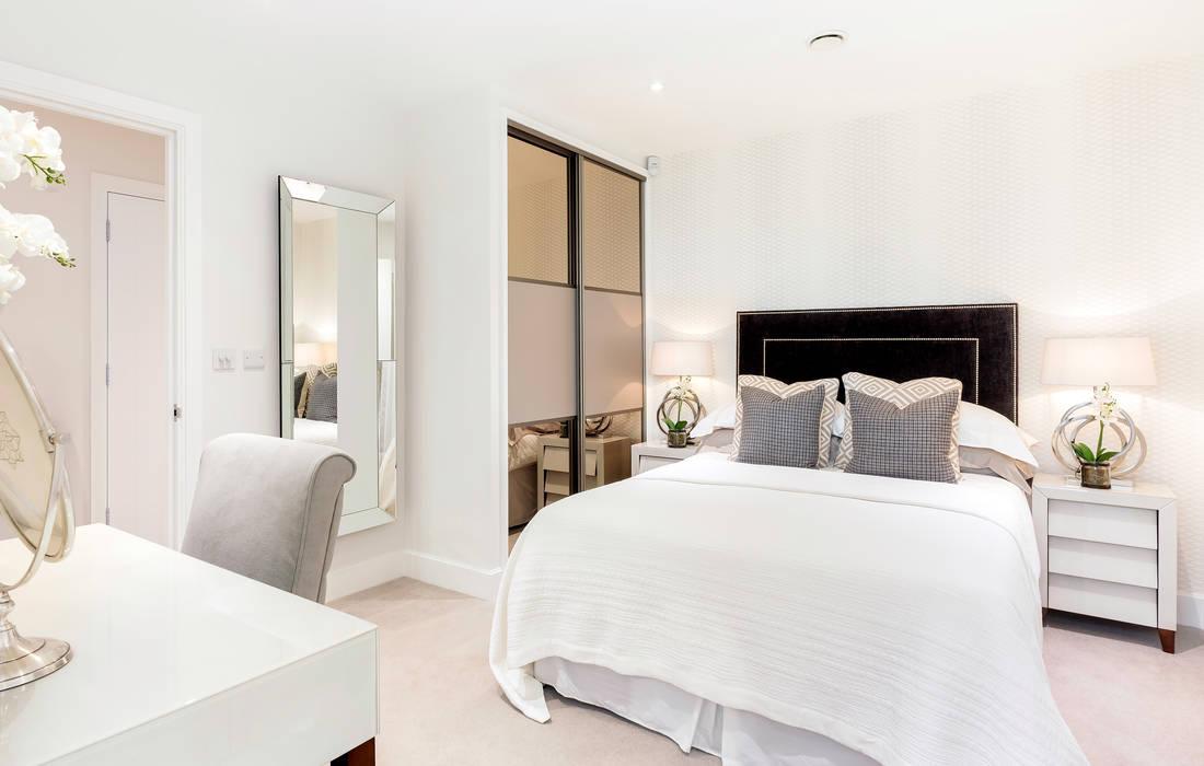 Master Bed by WN Interiors Cuartos de estilo moderno de WN Interiors Moderno