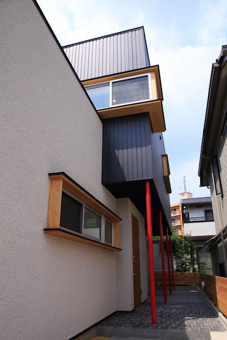 Casas de estilo moderno de MA設計室 Moderno