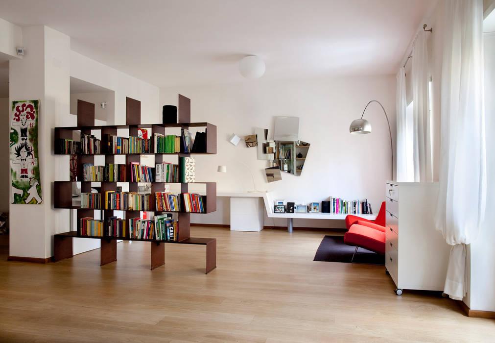 Livings de estilo moderno de MAT architettura e design Moderno