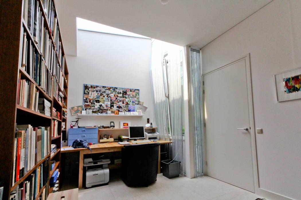 De study Moderne studeerkamer van OX architecten Modern