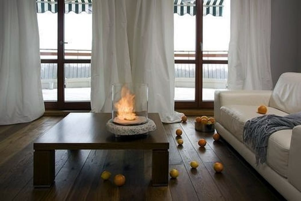 Stone Glass Biofire Urban Icon Living roomFireplaces & accessories