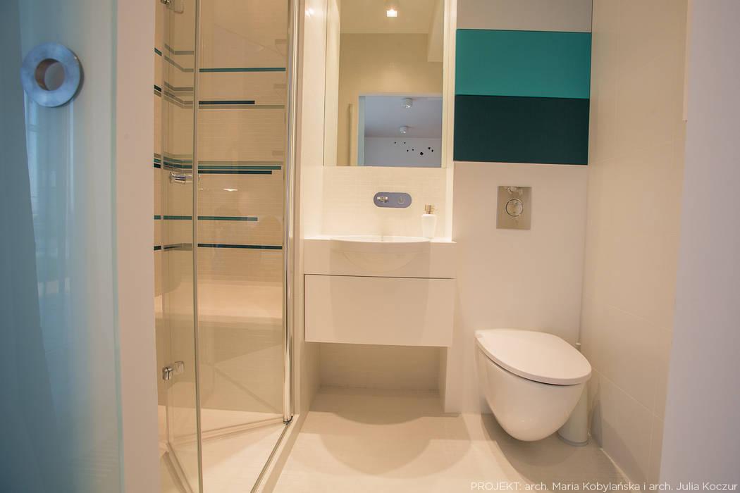 Baños de estilo  por LEMUR Architekci, Moderno