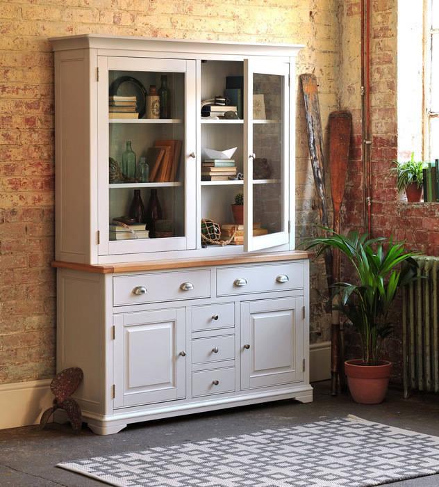 Boston Light Grey Dresser par The Cotswold Company Rural