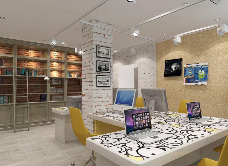 Офис: Офисные помещения в . Автор – o-shorina, Модерн