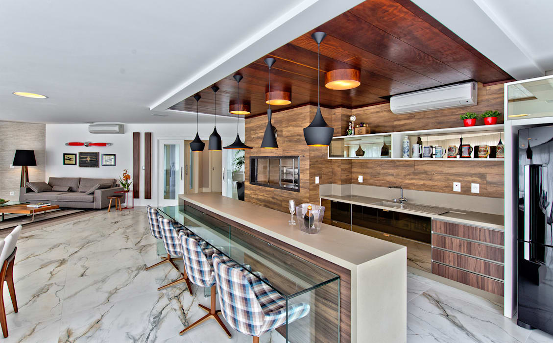 Espaço do Traço arquitetura Modern kitchen