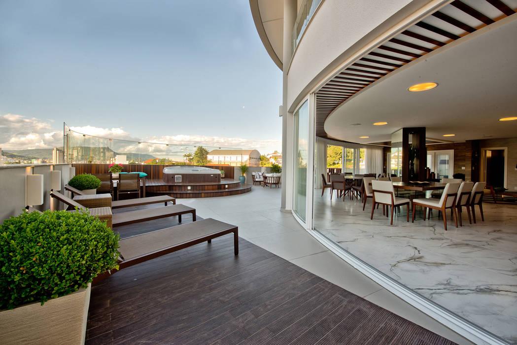 Terrasse von Espaço do Traço arquitetura,