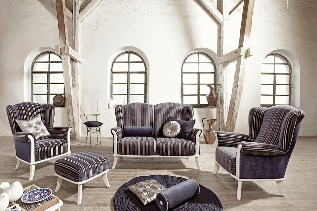 Ushak classic w starym młynie: styl , w kategorii Salon zaprojektowany przez Swarzędz Home