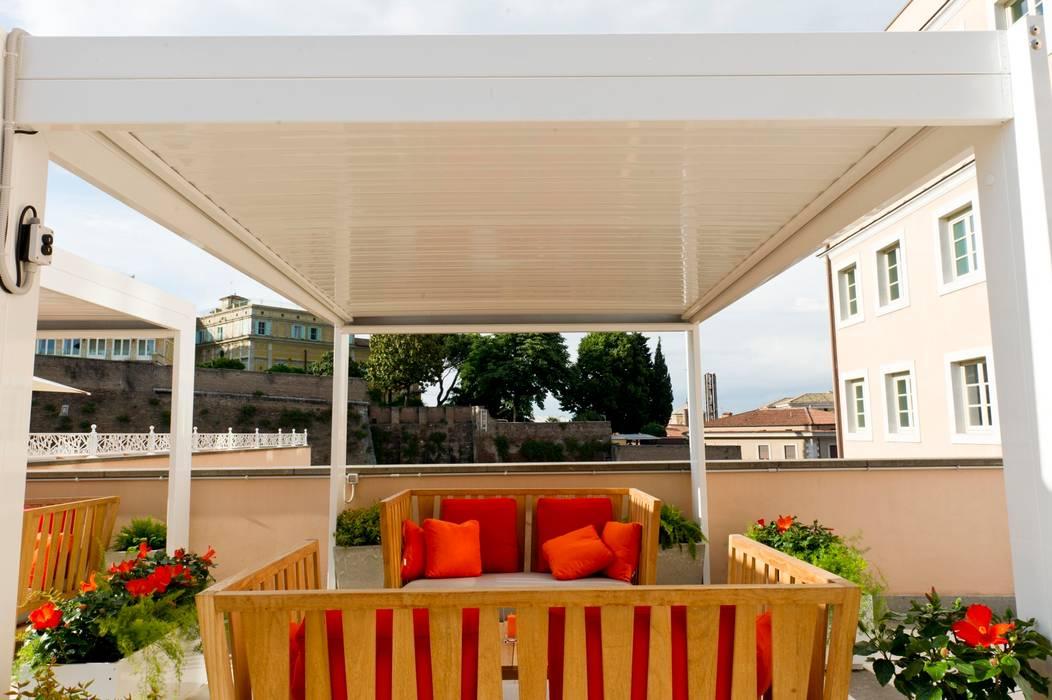 Balcon, Veranda & Terrasse méditerranéens par studiomartino.5 Méditerranéen