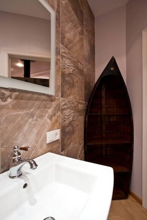 ห้องน้ำ โดย Дизайн-студия интерьера 'ART-B.O.s', ผสมผสาน