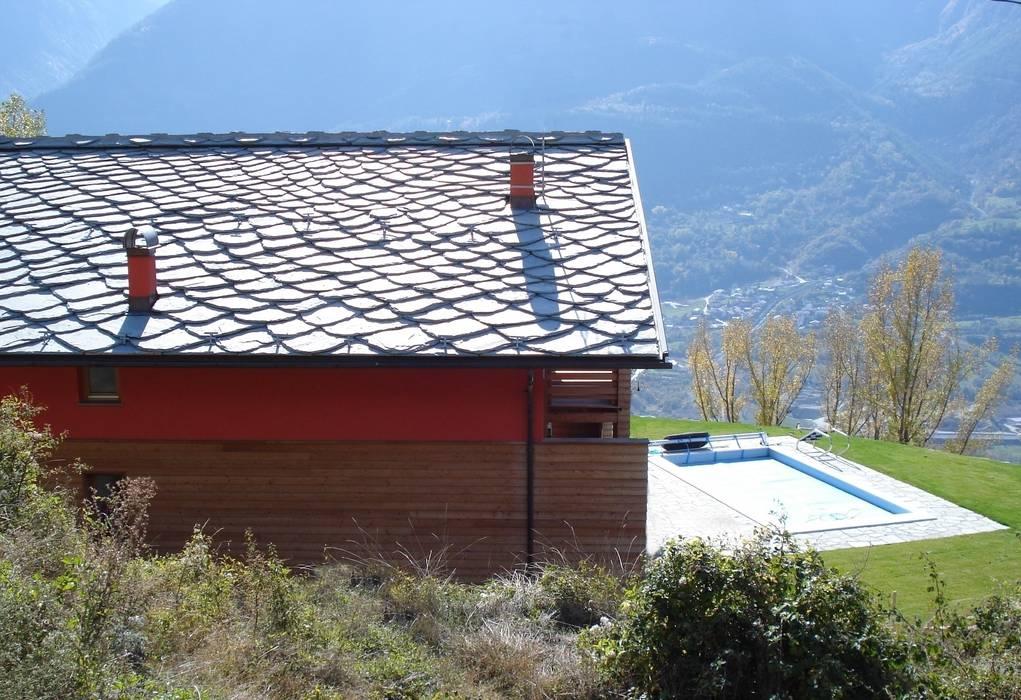 Maisons modernes par Eddy Cretaz Architetttura Moderne