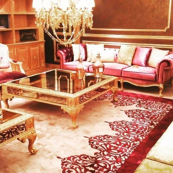 Classical Style My Home Halı Ruang Komersial Klasik