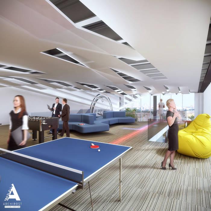 Визуализации офиса для крупной российской компании «Росатом». от Аrchirost Лофт