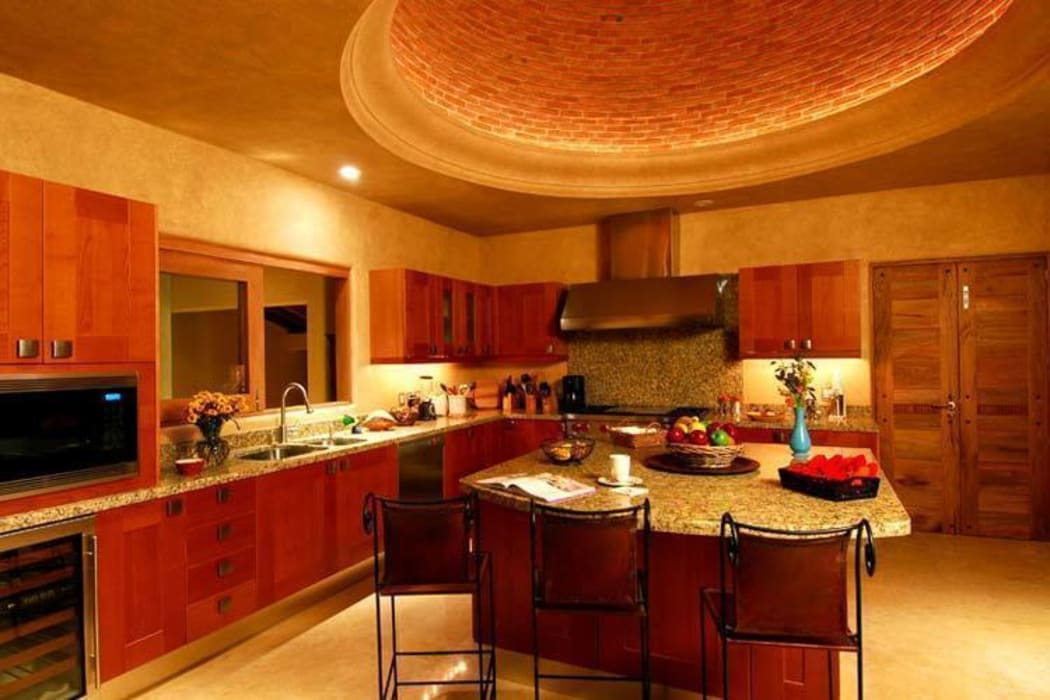 Casa Cariza: Cocinas de estilo topical por BR  ARQUITECTOS