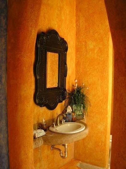 Toilete: Baños de estilo  por ARQUELIGE