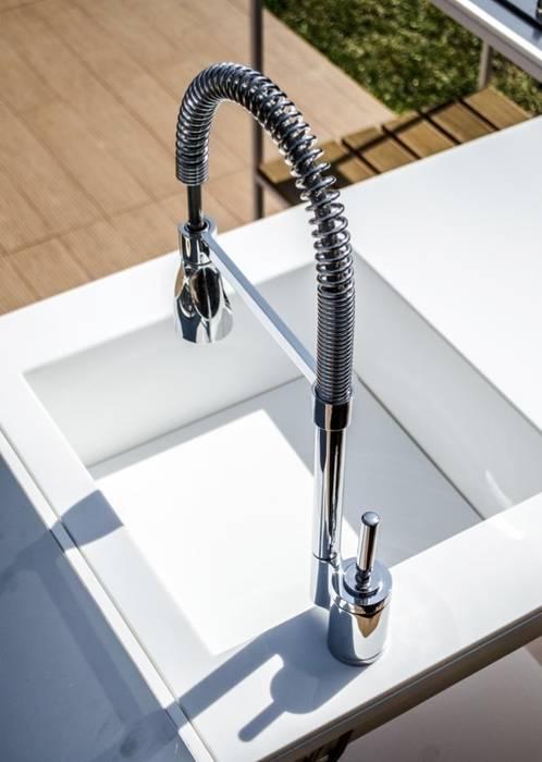 Consolle cucina per esterno di d 39 arrigo external design for Consolle per cucina
