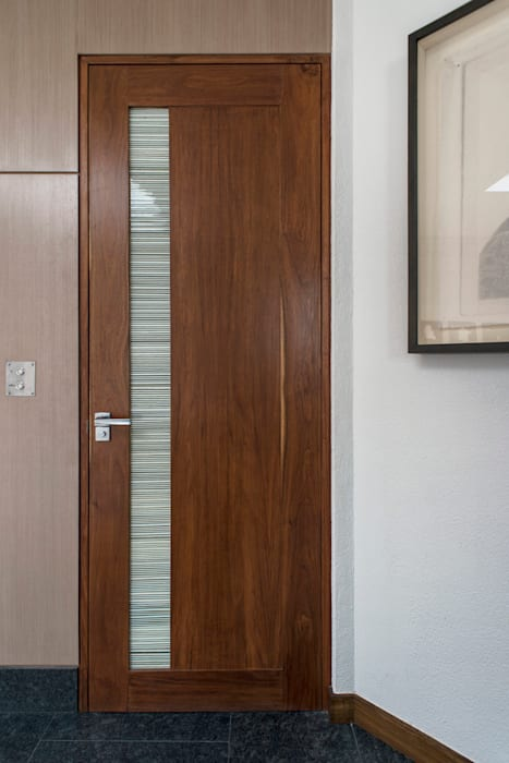 Residencia CD de México Puertas y ventanas modernas de Studio Orfeo Quagliata Moderno