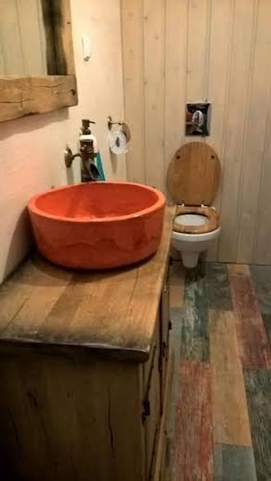 umywalka ceramiczna: styl , w kategorii Łazienka zaprojektowany przez dekornia
