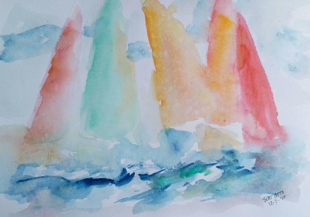 Bert Otto art of holland. งานศิลปะแต่งบ้านรูปภาพและภาพวาด