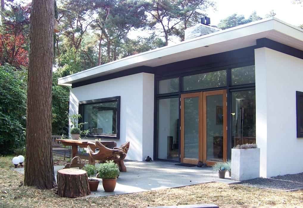 Casas de estilo  de Bureau MT, Moderno