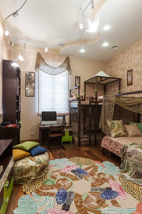 Интерьеры от Марии Абрамовой Tropical style nursery/kid's room