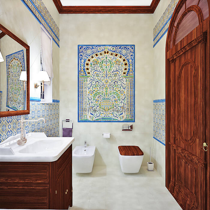 Asian style bathroom by AbcDesign Asian