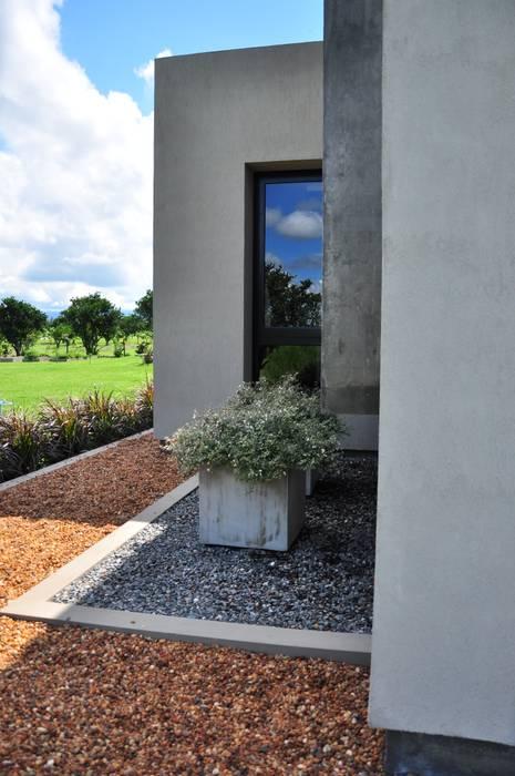 Modern style gardens by binomio Modern