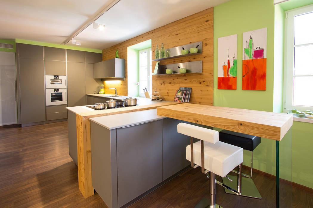 Küche mit altholz: küche von atelier für küchen & wohnkultur laserer ...