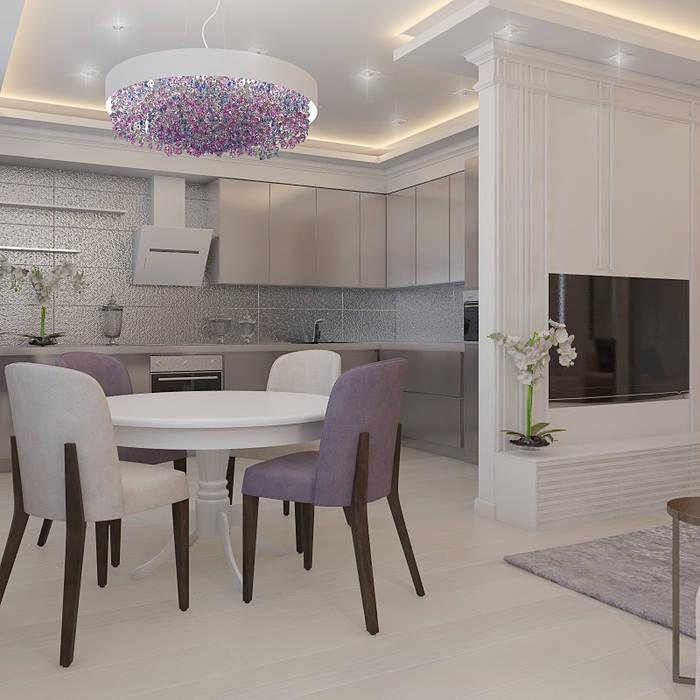 Classic style dining room by Частный дизайнер и декоратор Девятайкина Софья Classic