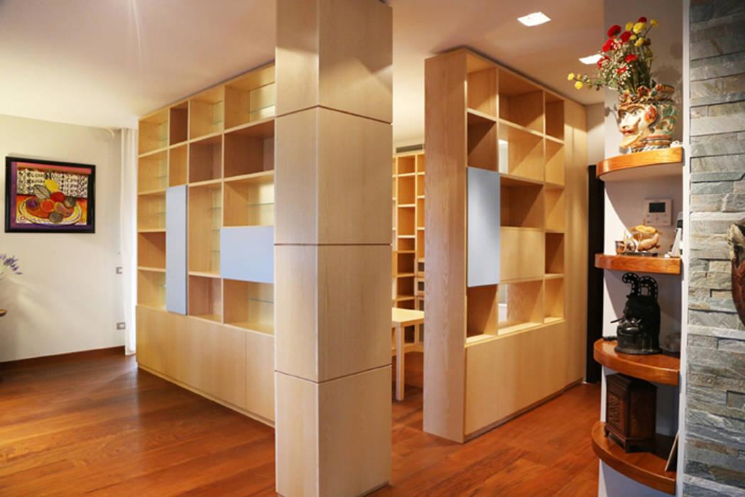 Ruang Kerja oleh MAT architettura e design, Modern