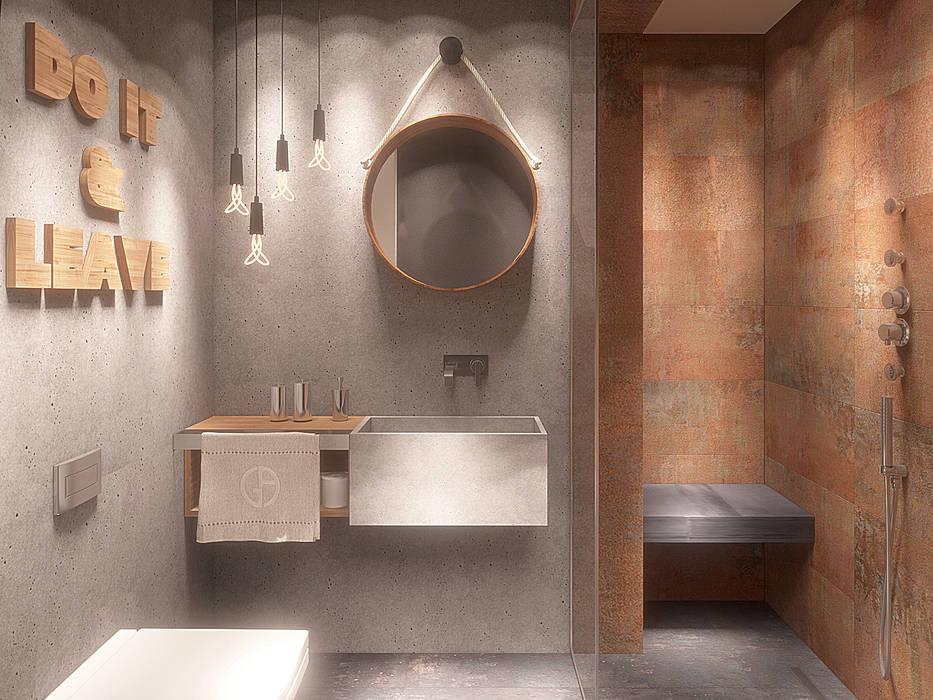 Salle de bain moderne par homify Moderne Tuiles