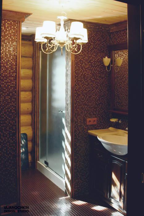 Country style bathroom by ULJANOCHKIN DESIGN*STUDIO Country