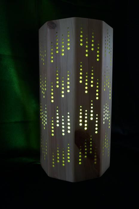 Luminaire d'ambiance par DG Création Bois: Art de style  par DGcréationbois