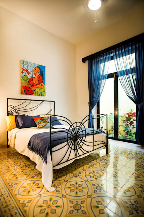 Recámara de Huespedes Taller Estilo Arquitectura Dormitorios modernos