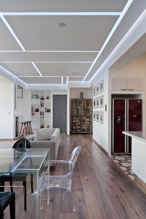 Modern dining room by HO arquitectura de interiores Modern