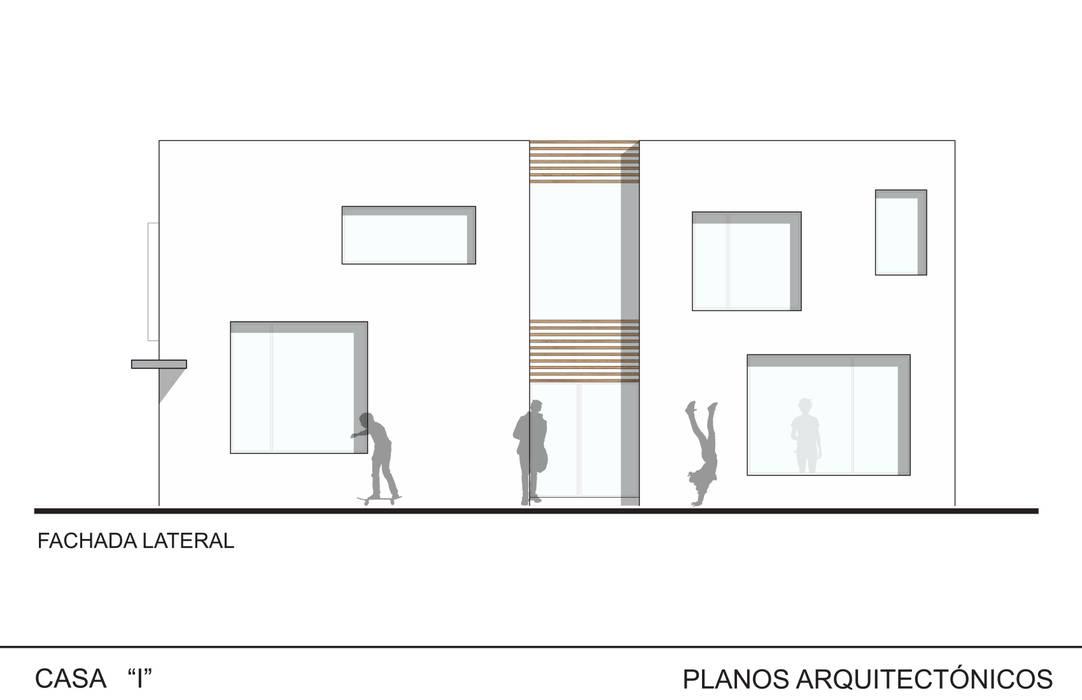 Casa I: Casas de estilo  por ODRACIR,