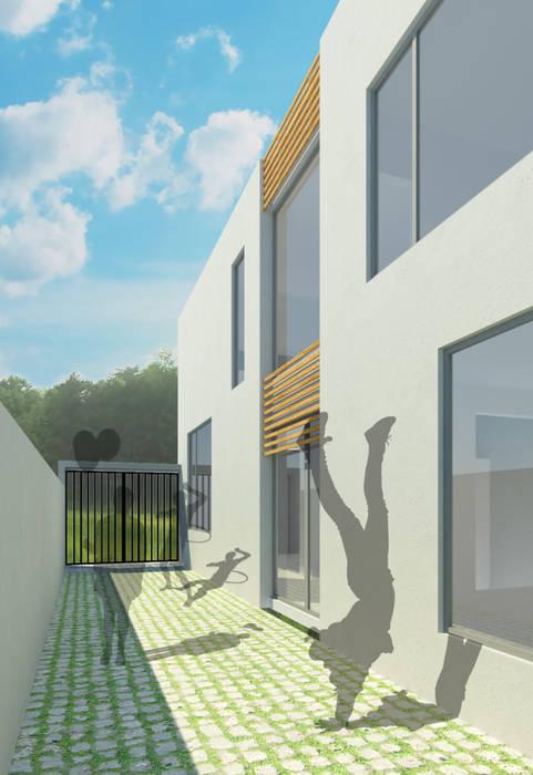 Casa I: Casas de estilo minimalista por ODRACIR