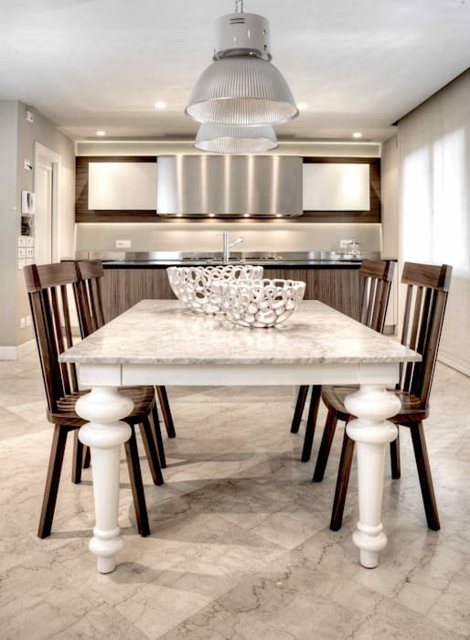 Cucina Con Salotto.Cucina Con Angolo Salotto E Camino Cucina In Stile Di