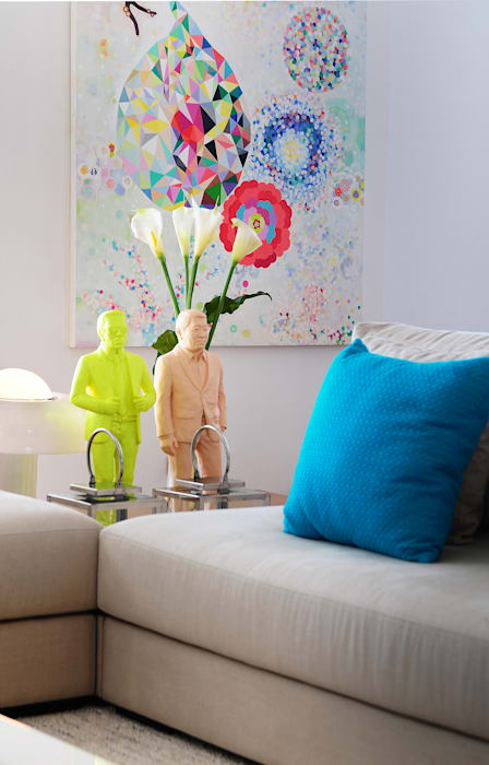فن تشكيلي تنفيذ Thaisa Camargo Arquitetura e Interiores