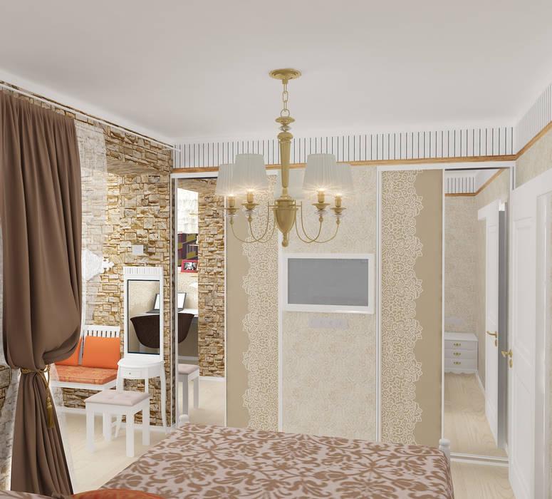 Dormitorios de estilo rural de Design Rules Rural