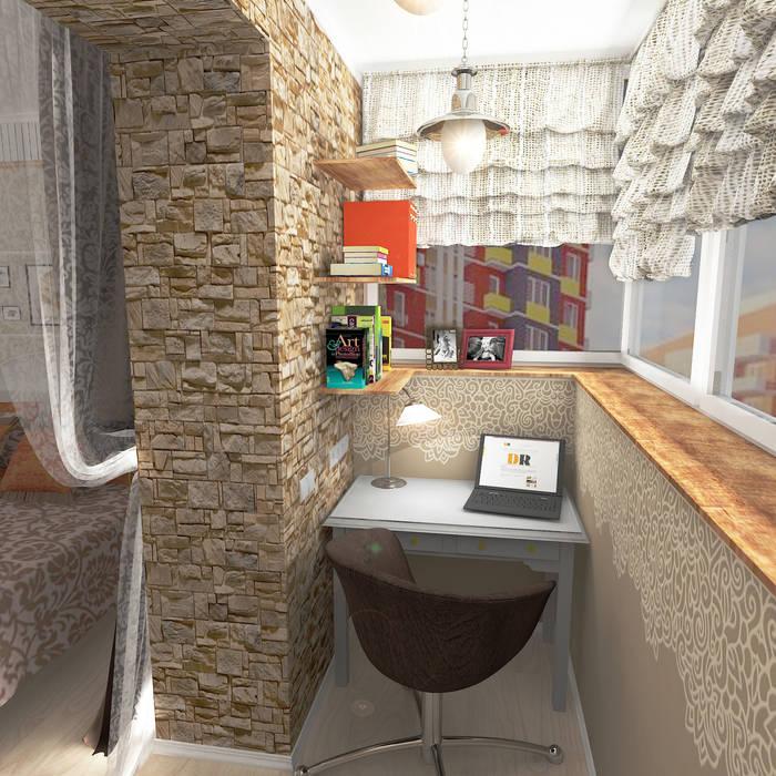 Balcones y terrazas de estilo rural de Design Rules Rural
