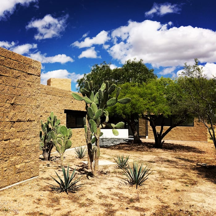Integración al contexto Casas rurales de Paramétrica Arquitectos Rural