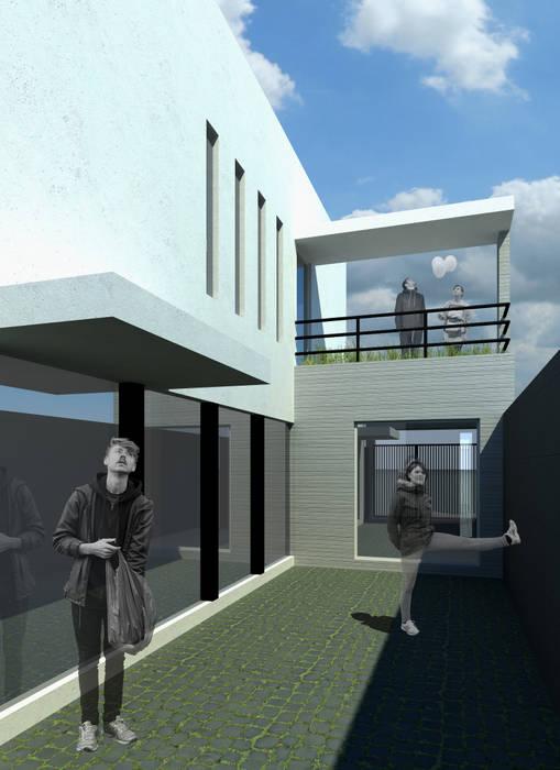 CASA L: Casas de estilo  por ODRACIR, Moderno